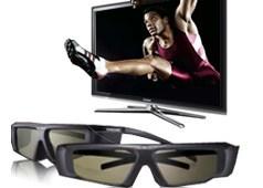 Samsung full HD Series 7 3D TVs