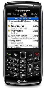 BlackBerry Pearl 3G smartphone