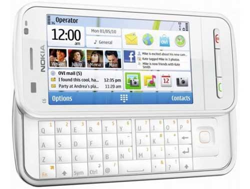 Nokia C6, Nokia C6 smartphone