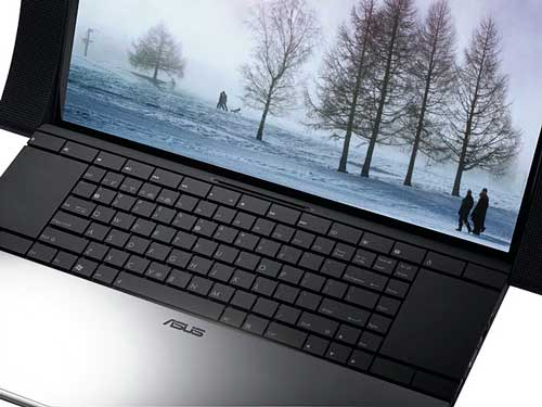 ASUS NX90 notebook computer