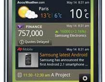 Samsung Galaxy S touchscreen Android smartphone