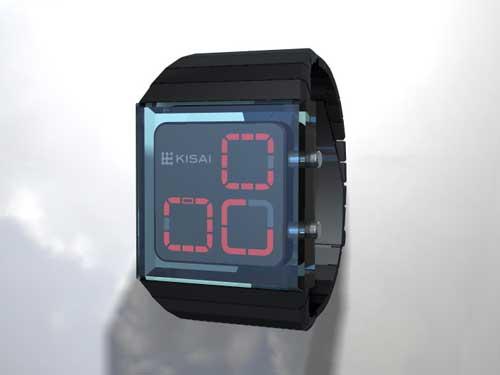 Tokyoflash Zonal watch concept design