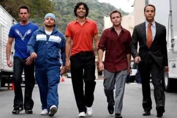 The cast of Entourage