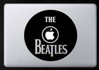 MacBook decal, MacBook Pro decal, personalise your Mac, Beatles decal