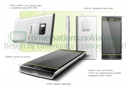 Nokia Design by Community / Nokia U sketches
