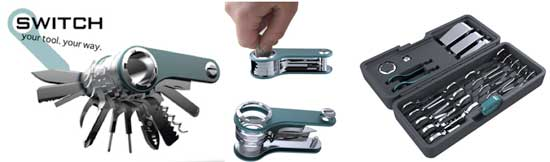 Quirky Switch multi-tool pocket knife