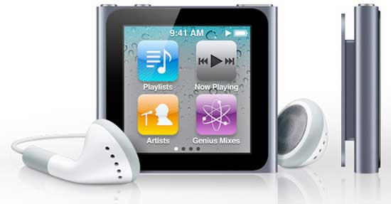Apple iPod nano, Apple iPod nano 6th generation