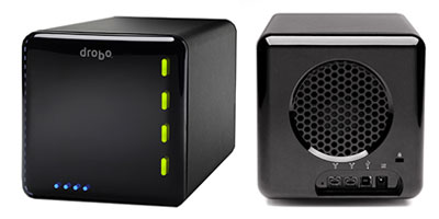 Drobo Storage Robot, multi-bay external hard drive