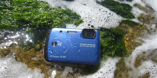 GE G3WP waterproof digital camera