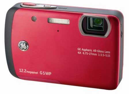 GE G5WP waterproof digital camera