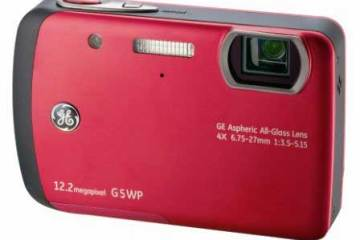 GE G5WP waterproof digital camera