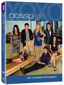 Gossip Girl season 3 DVD box