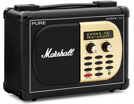Pure Evoke 1S Marshall digital radio