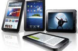Samsung Galaxy Tab, Samsung tablet computer, Android Froyo tablet