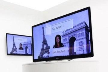 Sony's Google TV demonstration