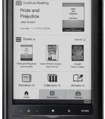 Sony Reader Touch Edition, Sony e-book reader, Sony electronic book