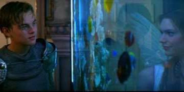 William Shakespeare's Romeo+Juliet fishtank scene
