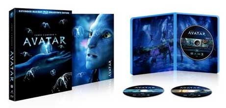 Avatar Extended Collector's Edition on Blu-ray and DVD
