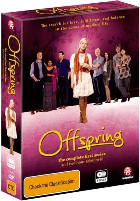 Offspring, season 1 on DVD, box set