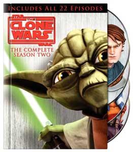 Star Wars: The Clone Wars Season Two on DVD & Blu-ray