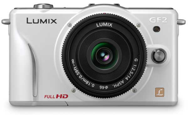 Panasonic Lumix DMC-GF2 Micro Four Thirds camera