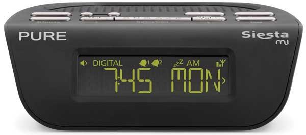 Pure Siesta mi bedside digital radio