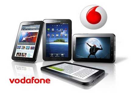 Vodafone's Samsung Galaxy Tab pricing