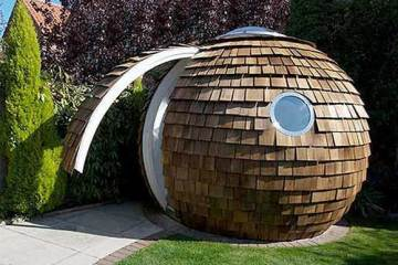 Archipod's The Pod, external view