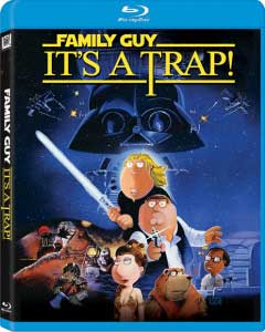 Family Guy: It's a Trap! Blu-ray cover