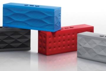 JAMBOX by Jawbone wireless speaker and speakerphone colors