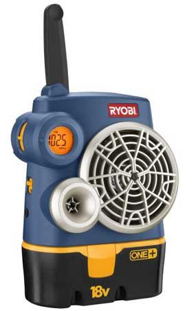 Ryobi ONE+ FM radio