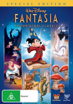Fantasia on DVD, boxshot