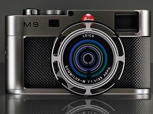 Leica M9 Titanium - front
