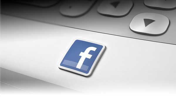 The Facebook button on HTC mobile phones
