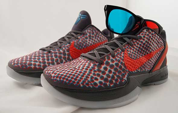 Nike Zoom Kobe VI 3D shoes