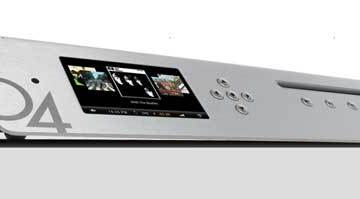 Olive O4HD Music Server, front angle