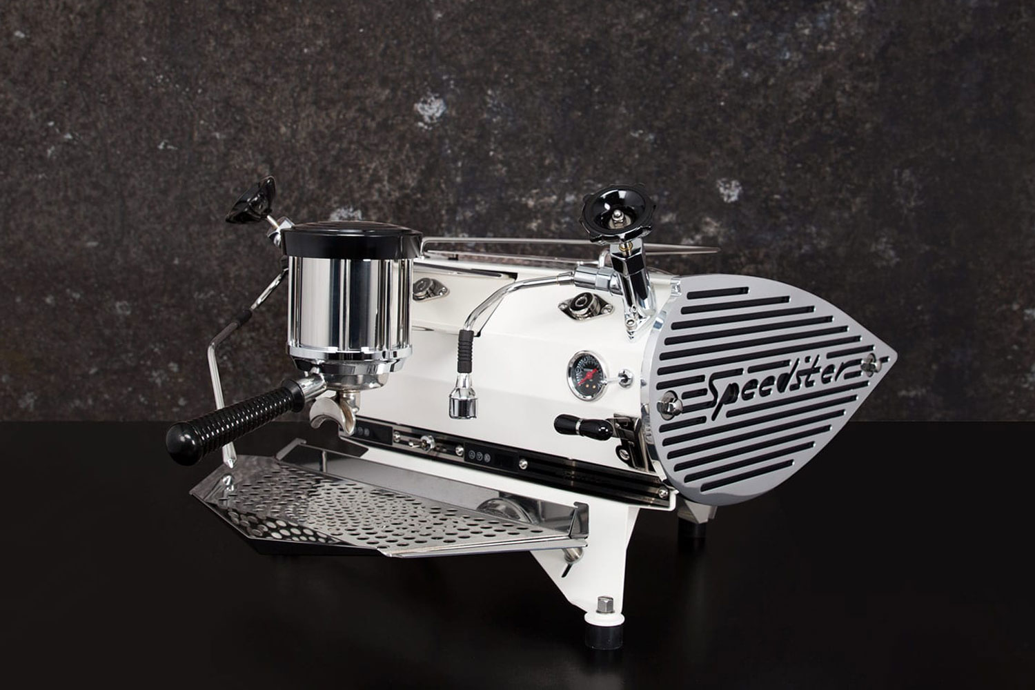 Speedster coffee machine Kees van der Westen rear angle view