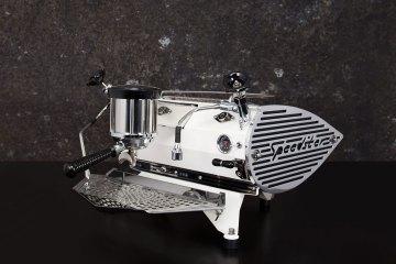 Speedster coffee machine Kees van der Westen rear angle view