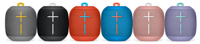 Ultimate Ears Wonderboom speaker colour range