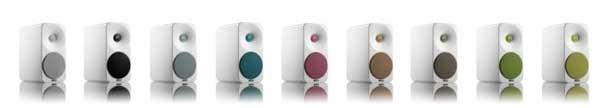 Amphion Ion speakers, colour range