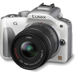 Panasonic Lumix DMC-G3 - white
