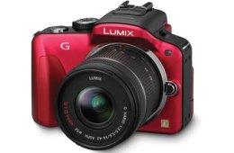 Panasonic Lumix DMC-G3 red