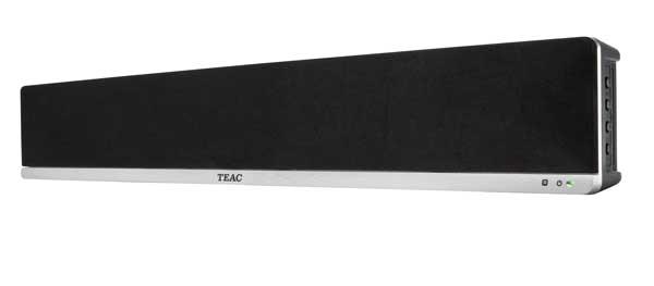 TEAC SB04T soundbar, front angle