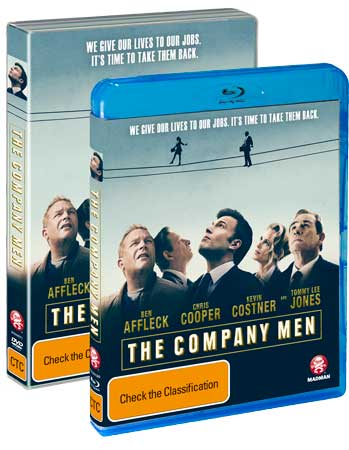 The Company Men - DVD and Blu-ray boxes