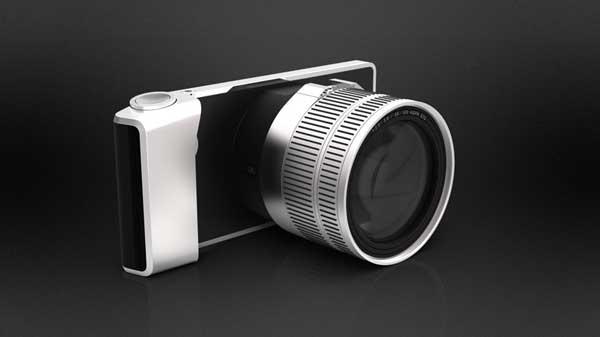 Artefact Camera Futura, front angle