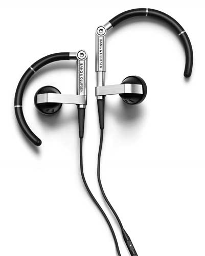 Bang & Olufsen EarSet 3i earphones, close-up