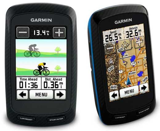 Garmin Edge 800 Touchscreen GPS bike computer