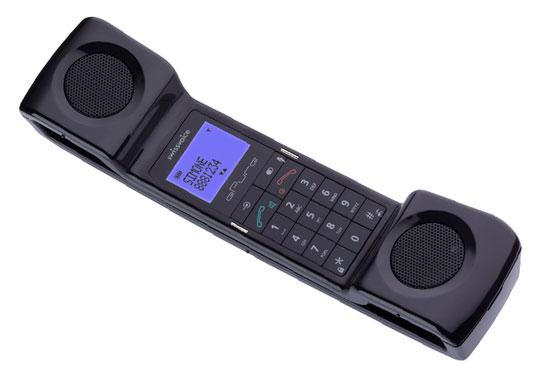 Swissvoice ePure cordless phone - handset, black