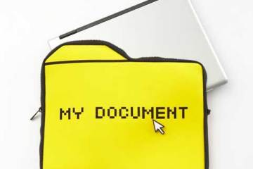 25togo My Document computer sleeve