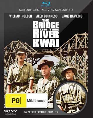 Bridge on the River Kwai, Blu-ray cover